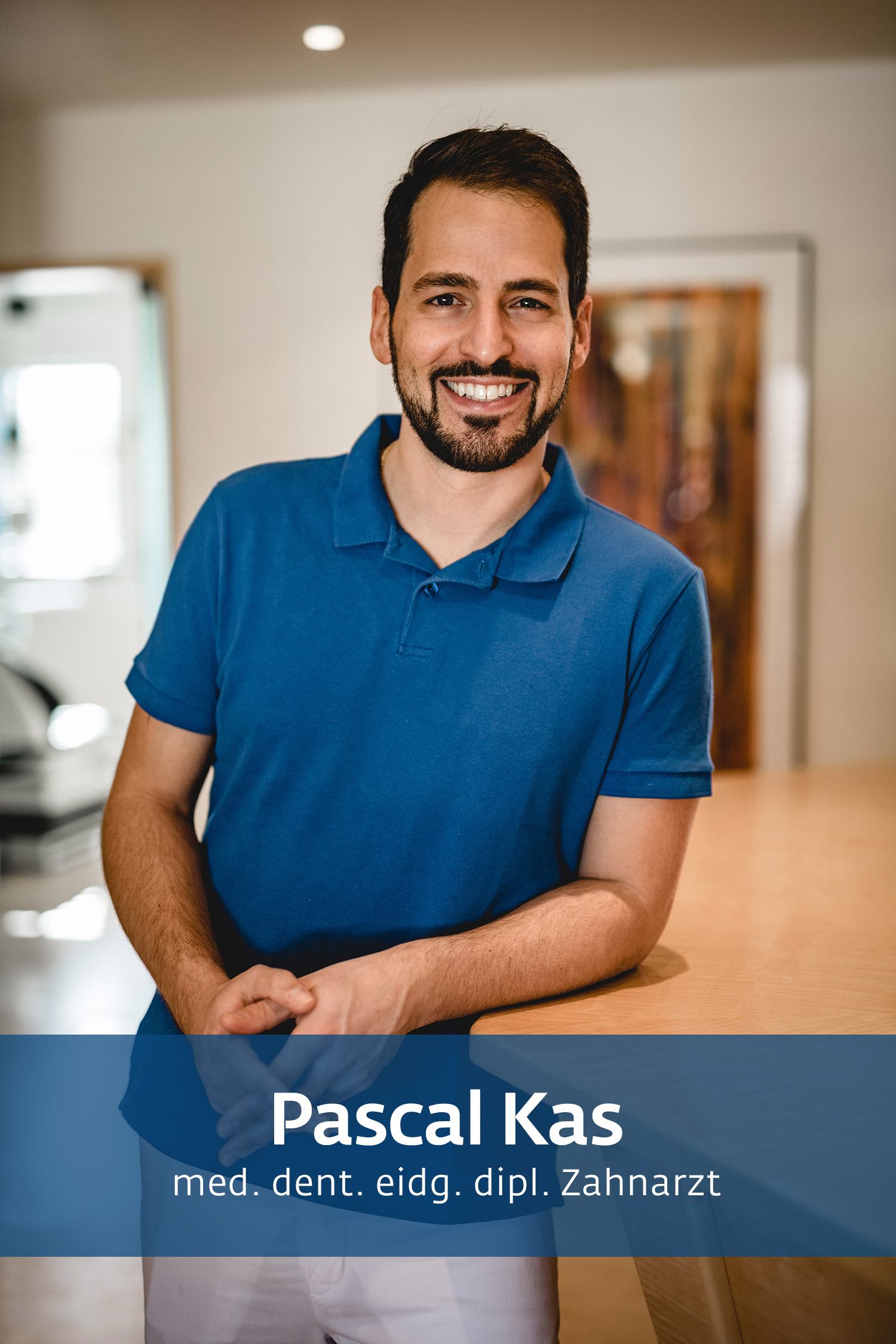 Pascal Kas - Zahnarztpraxis Hasler & Kas
